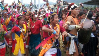 Moklum youths in festival