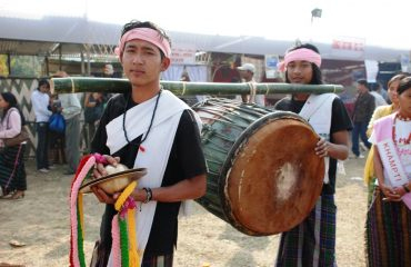 Youths in festival