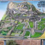 Golconda Fort map