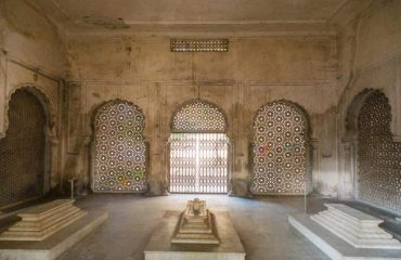Paigah Tombs Wall