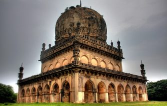 Qutub Shahi Tombs main view