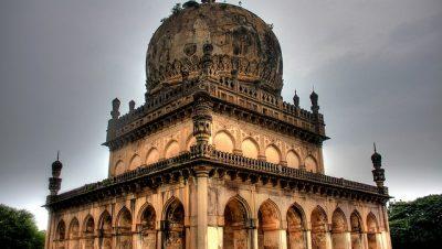 Qutub Shahi Tombs main view