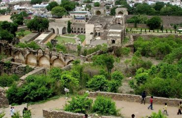 Golconda Fort another view