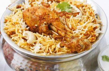 Famous Hyderabadi Biryani