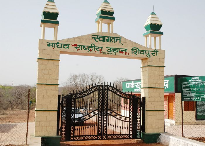 Front gate of Madhav National Park