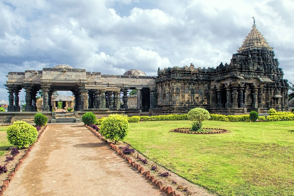 Mahadeva temple Outside View