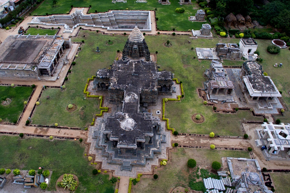 Mahadeva Temple Eagle View