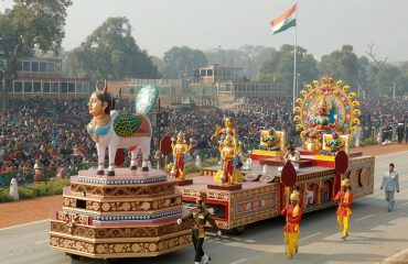 Kinnal Tableau- in -Republic- Day -Parade