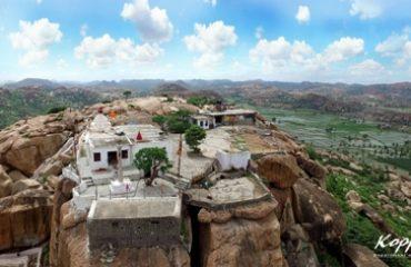 Anjanadri_Temple Eagle View