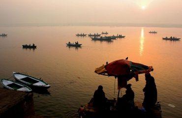 Boat Ride in Ganga