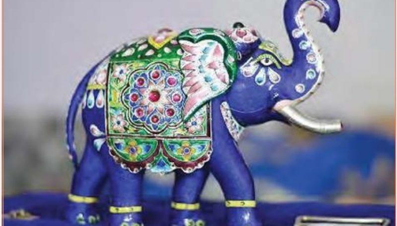 Gulabi Meenakari Craft