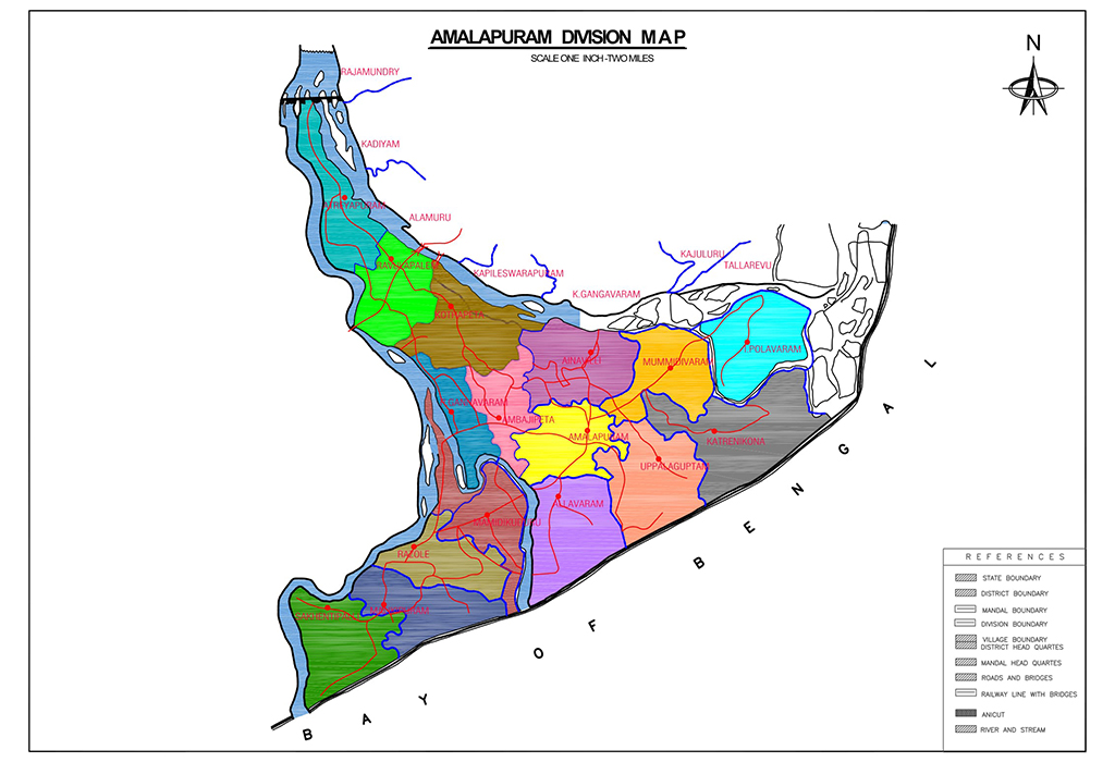 Map of District | Welcome to East Godavari District Web