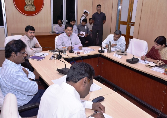 District Collector video conference with RDOs,MPDOs and Tahashildars from Collectorate kakinada