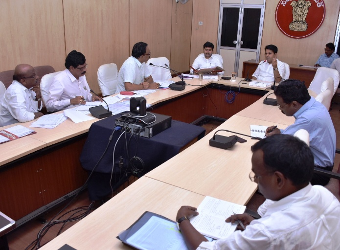 District Collector review meeting on Polavaram, R & R at collectorate, kakinada