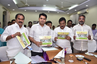 Deputy Cheif Minister, District Collector and Other MLAs inaugurated the information booklets pertaining to DR. NTR Vidya Seva Trust