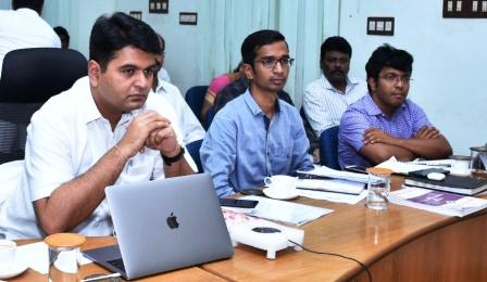 District Collector, Joint Collector and Sub collectors participated in Election Commission Video Conference at collectorate, Kakinada