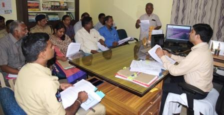 On 07-08-2018 Joint Collector conducted district level sand