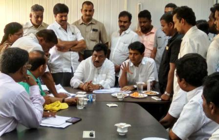 On 15-09-2018 Deputy Chief Minister conudcted review metting with District Collector on progress of Housing works at Peddapuram.