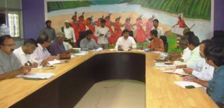 Joint Collector conducted review meeting on Polavaram R & R package with Project Officer ITDA and Sub Collector Rampachodavaram on 06-11-2018.