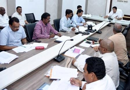 District Collector conducted review meeting on Polavaram R and R at collectorate kakinada on 22-1-2019.