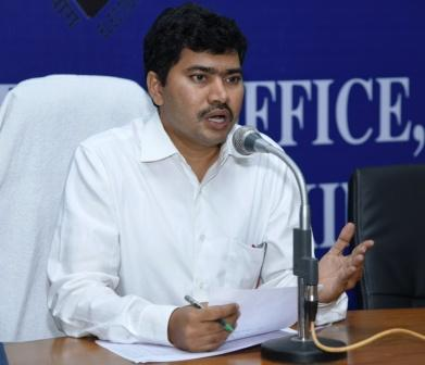 On 06-03-2019 Joint Collector briefed Media on Scrutiny of MLC Nominations at Media Facilitation center Collectorate Kakinada.