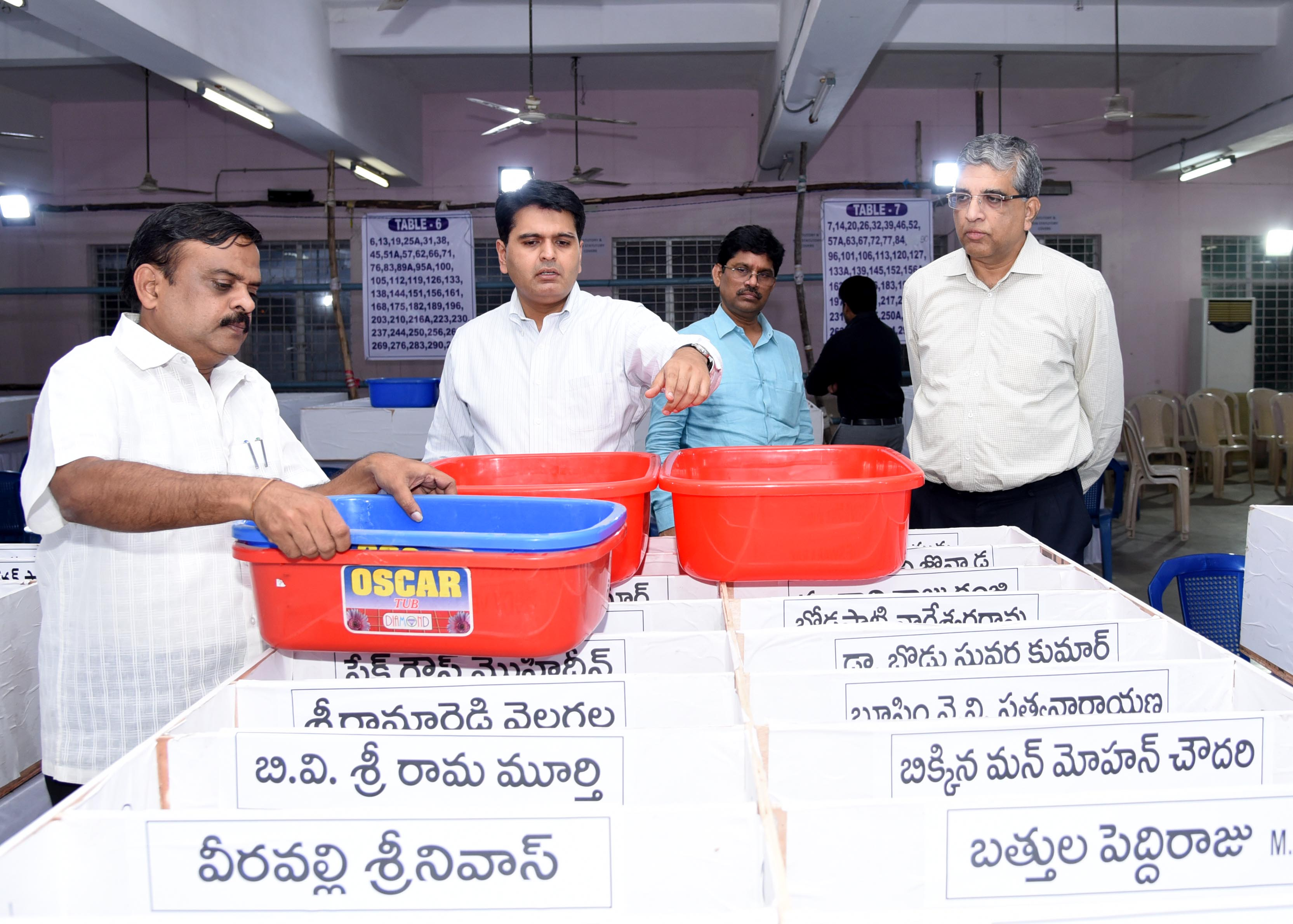 MLC Observer and Collector supervised counting arrangements