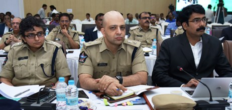 District Collector, Superintendent of Police, East Godavari and Superintendent of Police Rajamahendravaram participated in collector's conference at Velagapudi on 25.06.2019.