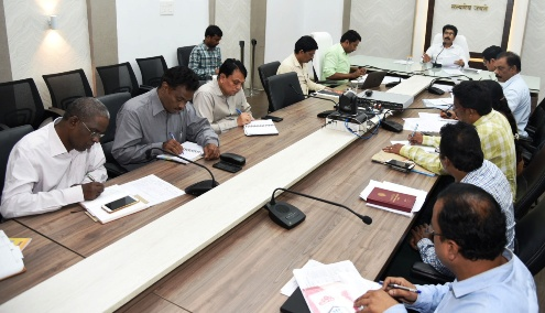 On 08.07.2019 Collector conducted mandal level Video Conference with all the departmental officers from Collectorate, Kakinada.