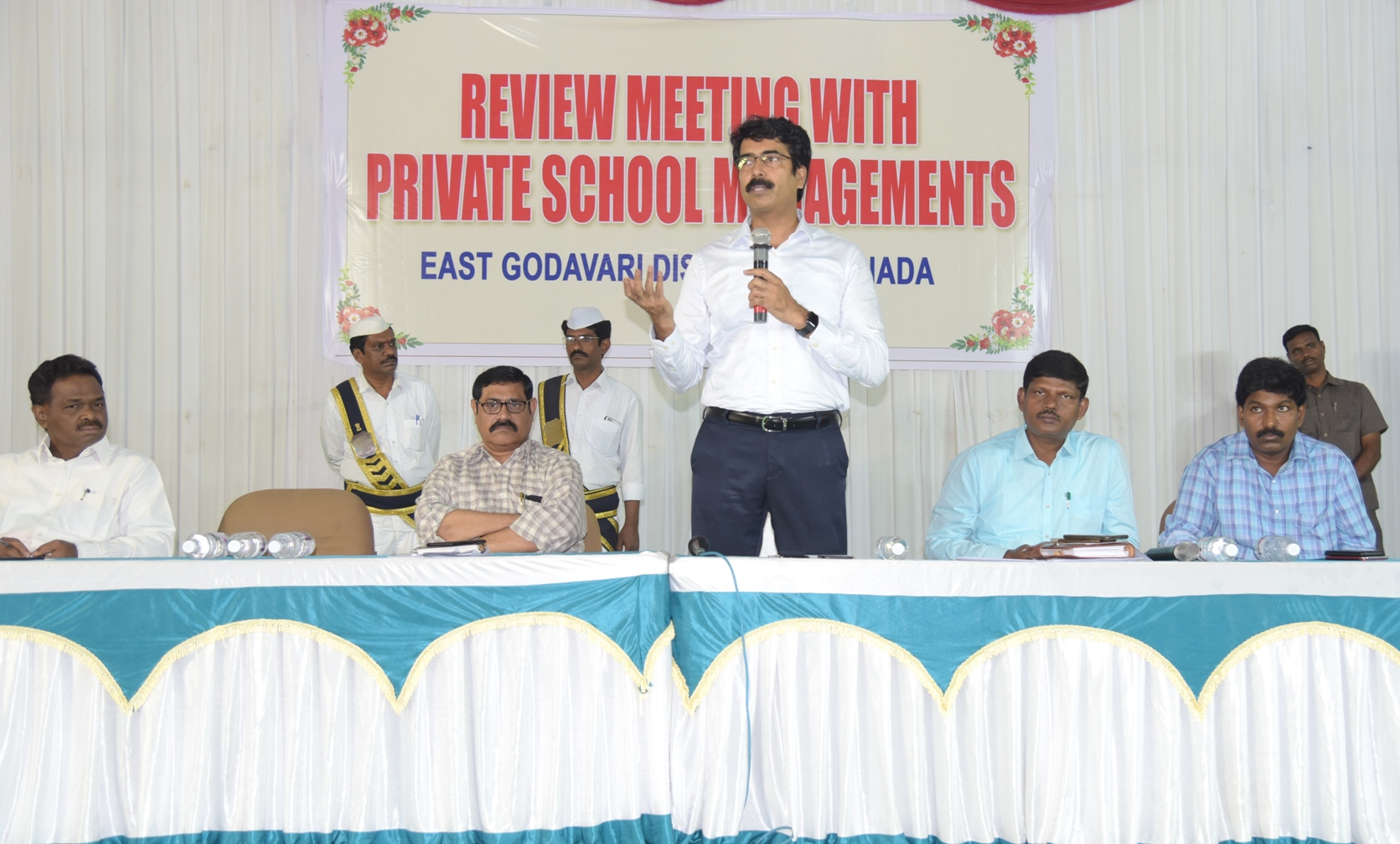 Collector address to Private school management