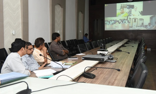 Joint Collector - 2 , AO Collectorate and other officers participated in Video Conference conducted CCLA on 19.07.2019.