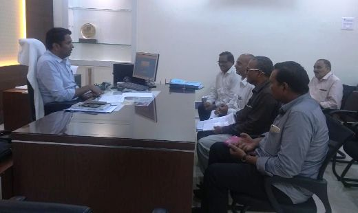 On 06.08.2019 Joint Collector conducted review meeting with Civil Supplies Department Officials.