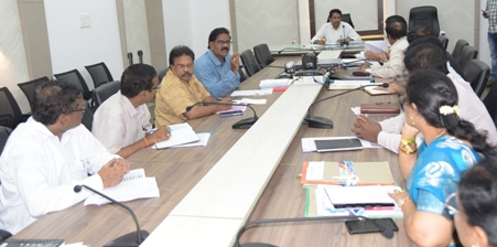 On 09.08.2019 Joint Collector conducted review meeting on Independance day arragenments.