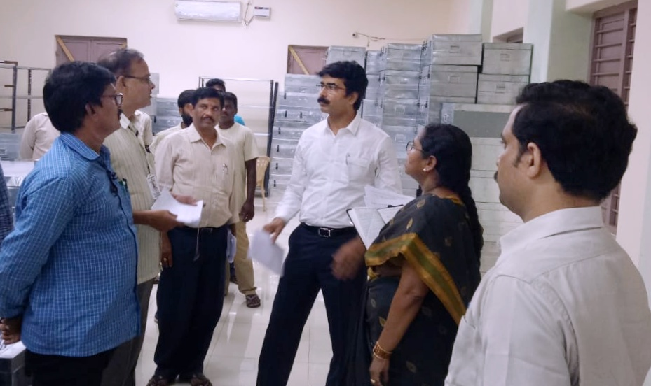 Grama Sachivalayam papers kept in ZP strong room