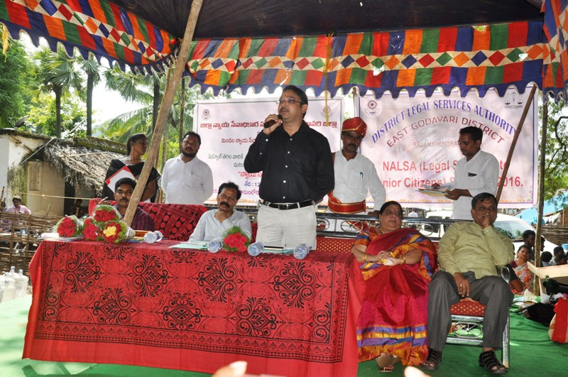 District Judge inaugurated legal services awarness campaign.