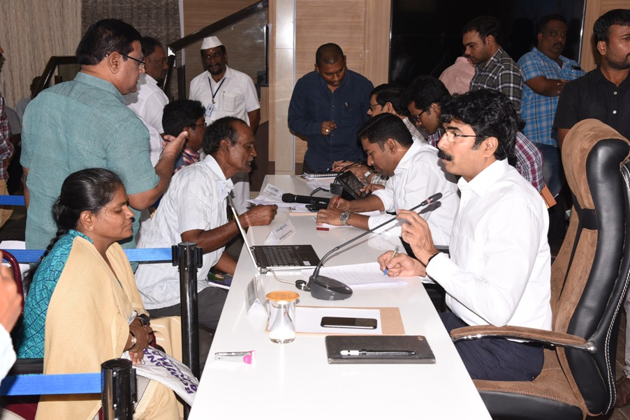Collector conducted Spandana on 14th October