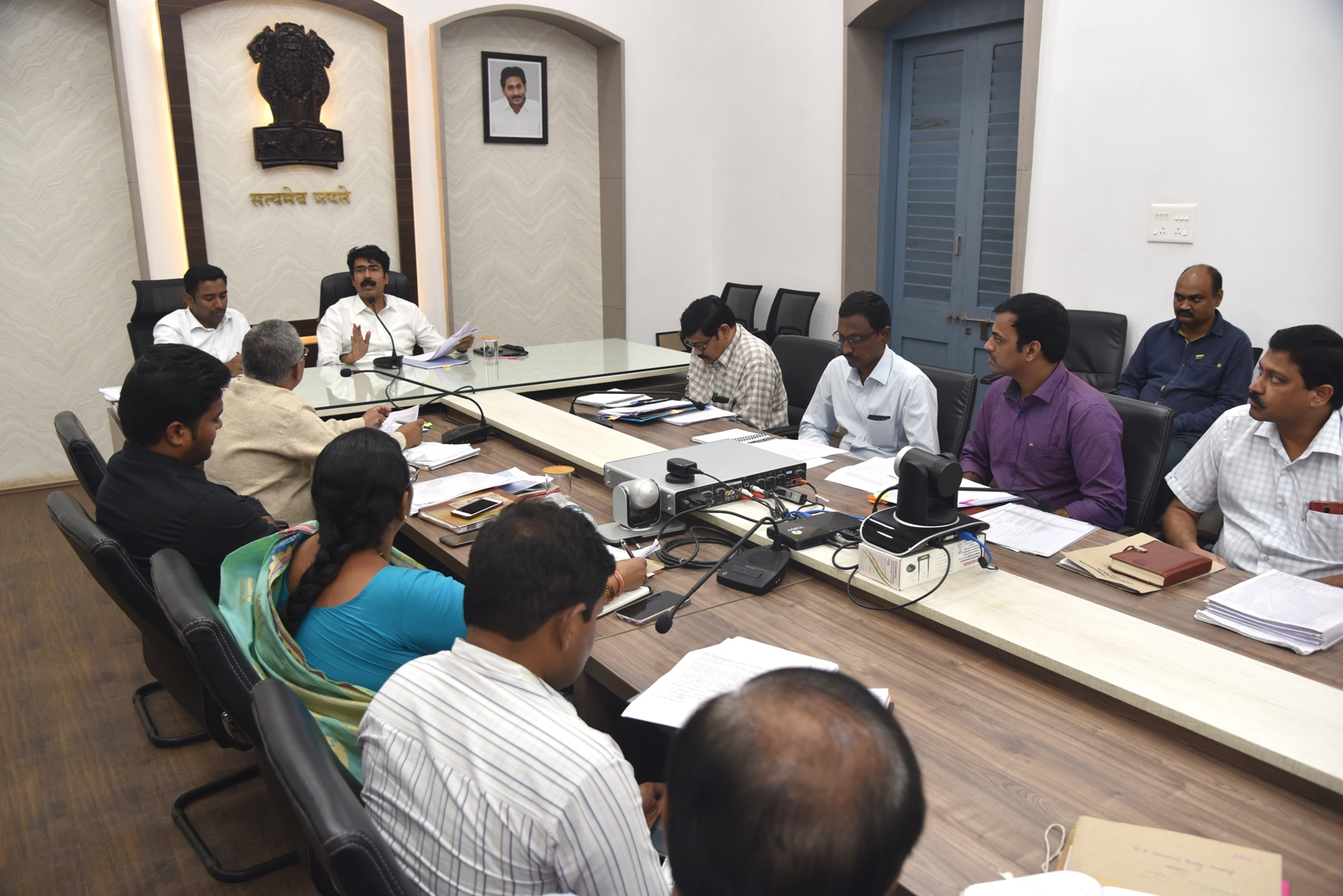 Collector conducted mandal level VC