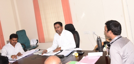 On 16.10.2019 Joint Collector conducted Revenue Officers Conference of Ramachandrapuram division at Ramchandrapuram.