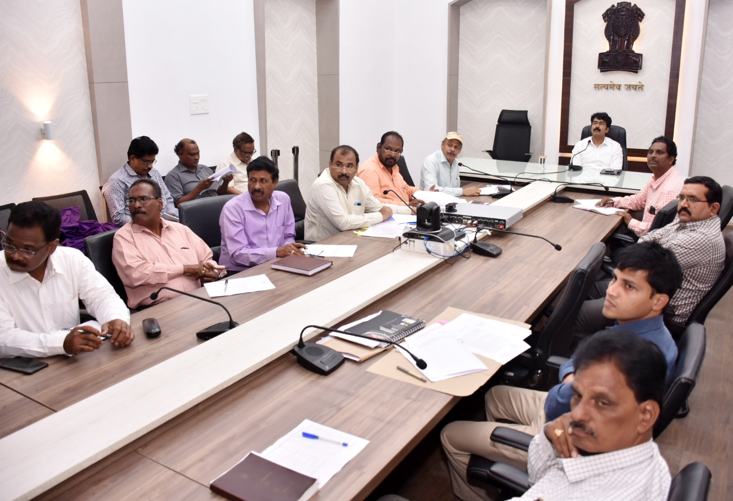 Collector meeting with DIPC officers