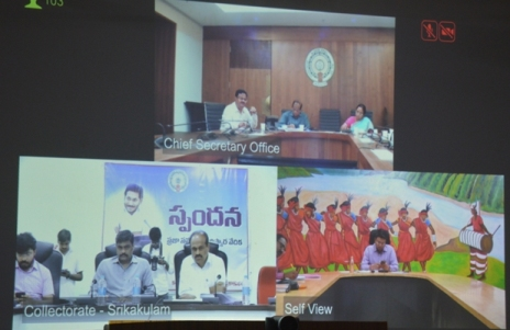 On 23.10.2019 Project Officer, ITDA participated in the Video Conference conducted by Honourable Chief Secretary.