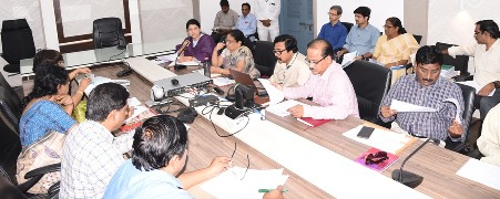 On 05.11.2019 Joint Collector-2 conducted review meeting with Medical and Health Department Officials.