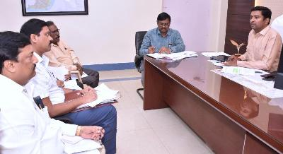 On 12.11.2019 Joint Collector conducted review meeting with PMAY Housing District Committee at collectorate, Kakinada.