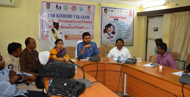 On 12.11.2019 Project Officer ITDA issued a pressnote on YSR Kishore Vikasam.