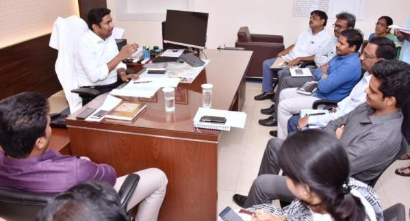 On 15.11.2019 Joint Collector conducted review meeting on Revenue Sports. PO ITDA, JC-2, DRO, RDOs and other officials participated.
