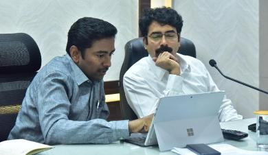 On 23.11.2019 District Collector, Joint Collector and Other Officers participated in Video Conference conducts by Principal Secretary Civil Supplies.