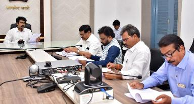 On 23.11.2019 District Collector, conducted meeting with political parties representatives.