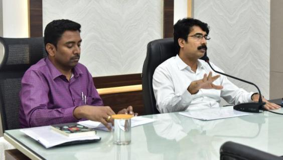 On 10.12.2019 District Collector and Joint Collector conducted meeting on Village Secretariats.