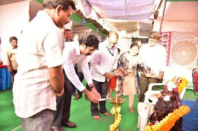 On 01.01.2020 District Collector Inaugurated Lepakshi Exibition.