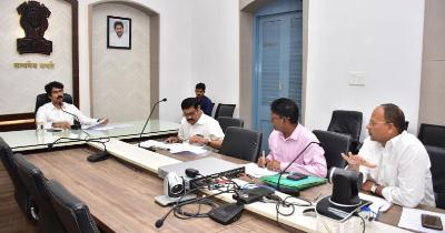On 03.01.2020 District Collector conducts review meeting with irrigation officials on water release of upcoming Rabi Crop.