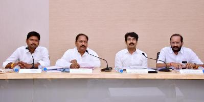 On 10.01.2020 Honourable Legislative Assurance Committee chairman, members, District Collector and Joint Collector conducted review with District officers at collectorate, Kakinada.
