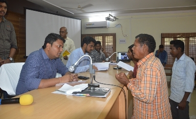 On 27.01.2020 Project Officer, ITDA and Sub Collector Rampachodavaram conducted Spandana Public Grievance and received petitions from Citizens.